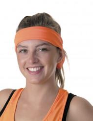 80er-Jahre Stirnband für Erwachsene orange