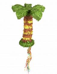 Palme Pinata Party-Gadget gelb-grün-braun 45cm