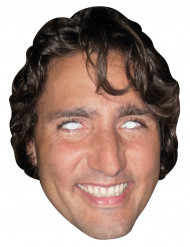 Justin Trudeau Pappmaske Politikermaske hautfarben-braun