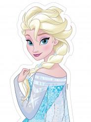 Elsa die Eiskönigin™ Zuckerfolie Kuchendeko 25x13cm bunt