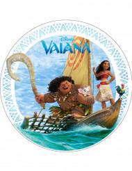 Essbare Vaiana™-Kuchendeko Tortenaufleger bunt 20cm