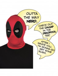 Deadpool™ Erwachsenenmaske Superheld rot-schwarz