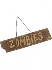 Zombie Aufhängeschild 40x10cm