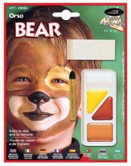 Kinder Schminke Bär
