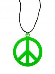 Hippie Medaillon bunt 8cm