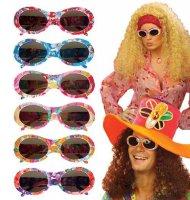 Hippie Brille bunt