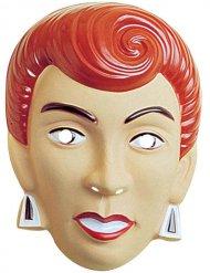 Karneval Maske Frau rot