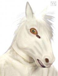 Pferd Maske Kostüm-Zubehör weiss