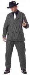 Mafiosi Gangster Kostüm XXL schwarz