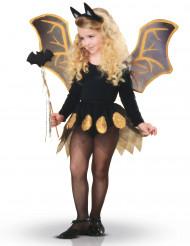 Fledermaus Set für Kinder schwarz-gold