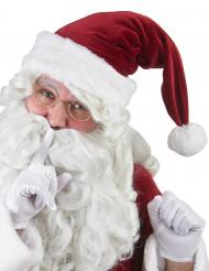 Weihnachtsmann Mütze Zipfelmütze rot-weiss