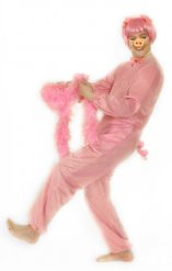 Schwein Kostümset rosa