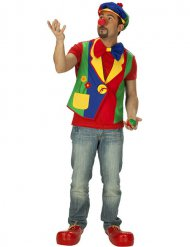 Clownsweste Kostümzubehör bunt