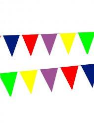 Wimpelkette Girlande Party-Deko bunt 10mx30cm