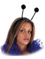 Haarreif mit Insekten-Fühlern schwarz