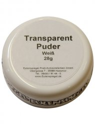 Transparent-Puder weiß 28g