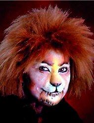 Latex-Applikation Löwennase Kostüm-Zubehör bunt