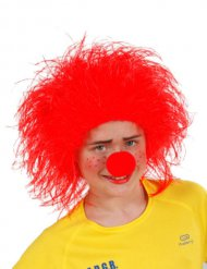 Wuschelkopf Kinder-Perücke rot