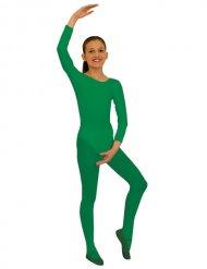 Langarm-Body für Kinder Kostümzubehör grün
