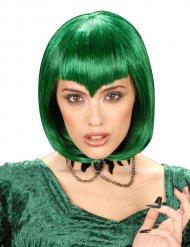 Gothic Vampir Perücke grün