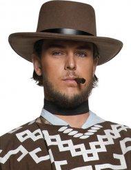 Cowboy Hut schwarz-braun