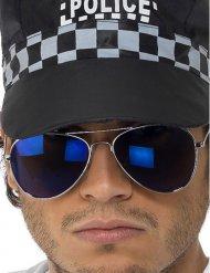 Pilotenbrille blau