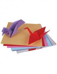 Origami Bastel-Set Geschenkidee 2-teilig bunt 15x15cm