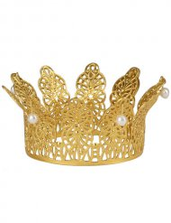 Krone Krönchen Königin Ornamente gold