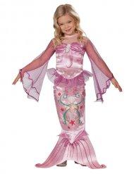 Meerjungfrau Mädchen Kinderkostüm rosa