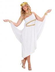Antike Göttin Damen-Kostüm Griechin weiss-gold