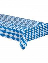 Tischdecke Biertisch Bayern Party-Deko blau-weiss 260x80cm