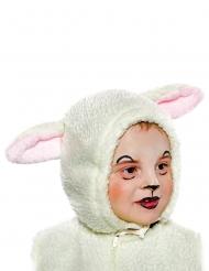 Schaf Schäfchenmütze Lamm Kinderhut weiss