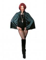 Vampir-Umhang Gothic-Cape 50cm für Kinder schwarz