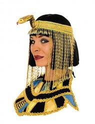 Cleopatra Kragen-Schmuck ägypterin gold-schwarz