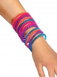 Armbänder Kinderschmuck 12 Stück bunt
