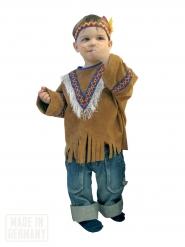 Indianer Western Kinderkostüm braun