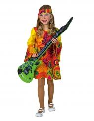Hippie-Mädchen 60er 70er Kinderkostüm bunt