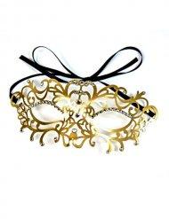 Venezianische Ornament Augenmaske gold