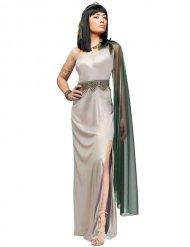 Cleopatra Antike Damenkostüm silber