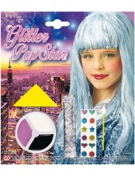 Glitter Make Up Set Popstar bunt