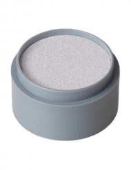 Grimas Aqua Make-Up Glanz-Schminke silber 15ml