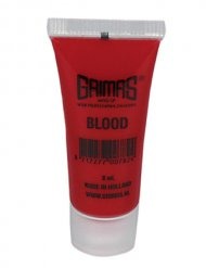 Grimas Make-Up Kunstblut Filmblut rot 8ml