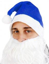 Weihnachtsmütze Zipfelmütze blau-weiss