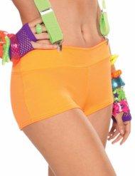 Sexy Disco-Panty 80er Jahre orange