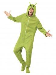 Alien Kostüm Ausserirdischer grün