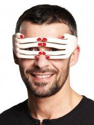 Spass-Brille Hände haut-rot