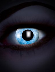 UV Kontaktlinsen Diamond Blue blau