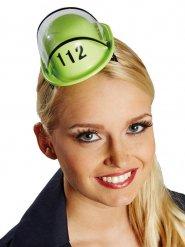 Mini Feuerwehr-Helm grün
