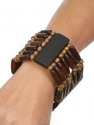 Indianer Schmuck Armband braun