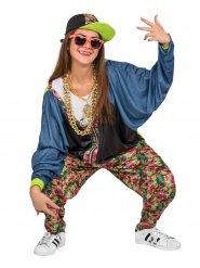 80er Jahre Hip Hop Kostüm bunt